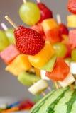 Οβελίδια φρούτων Στοκ φωτογραφίες με δικαίωμα ελεύθερης χρήσης