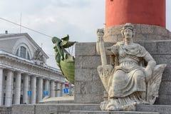 οβελός vasilyevskiy Στοκ φωτογραφία με δικαίωμα ελεύθερης χρήσης
