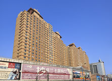 Ογκώδεις πολυκατοικίες στο κέντρο πόλεων, Τσανγκ Τσαν, Κίνα Στοκ Φωτογραφία