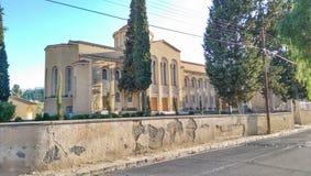 Ογκώδης και θαυμάσια εκκλησία στη Λευκωσία Στοκ Εικόνες
