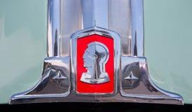1948 λογότυπο κουκουλών Pontiac Στοκ φωτογραφία με δικαίωμα ελεύθερης χρήσης