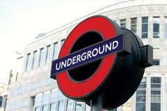 λογότυπο Λονδίνο υπόγε&iot Στοκ εικόνα με δικαίωμα ελεύθερης χρήσης