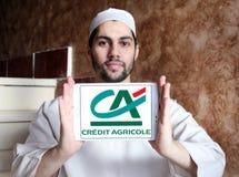 λογότυπο τραπεζών της Credit Agricole στοκ εικόνα με δικαίωμα ελεύθερης χρήσης