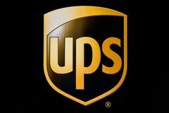 λογότυπο UPS στοκ εικόνες