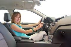 Οδήγηση γυναικών Στοκ εικόνες με δικαίωμα ελεύθερης χρήσης