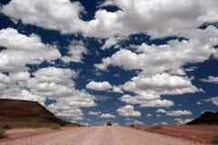 οδήγηση ερήμων Στοκ Εικόνες