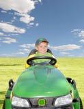 οδήγηση θεριστών Στοκ εικόνα με δικαίωμα ελεύθερης χρήσης