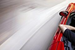 οδήγηση καμπυλών Στοκ εικόνες με δικαίωμα ελεύθερης χρήσης