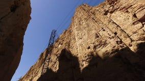 Οδήγηση μέσω του περάσματος βουνών απόθεμα βίντεο