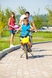 οδήγηση ποδηλάτων Στοκ Φωτογραφία