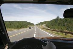 οδήγηση στην εργασία στοκ φωτογραφία με δικαίωμα ελεύθερης χρήσης