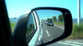 Οδήγηση στην κυκλοφορία πόλεων της Νέας Υόρκης φιλμ μικρού μήκους