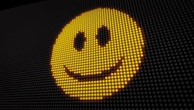 Οδηγήσεις χαμόγελου Emoticon διανυσματική απεικόνιση