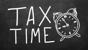 οδηγία μορφής 1040 έννοιας που βάζει την κορυφή φορολογικού χρόνου πακέτων Στοκ φωτογραφίες με δικαίωμα ελεύθερης χρήσης