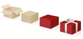 Οδηγία περικαλυμμάτων δώρων βαθμιαία απεικόνιση αποθεμάτων