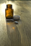 οδηγίες φαρμάκων Στοκ Εικόνες