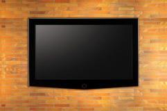 οδηγημένη τηλεόραση Στοκ Φωτογραφία