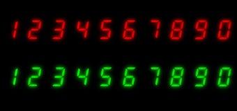 οδηγημένοι αριθμοί Στοκ εικόνες με δικαίωμα ελεύθερης χρήσης
