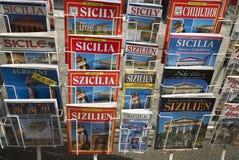 Οδηγοί τουριστών της Σικελίας στοκ εικόνες