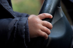 οδηγός μωρών Στοκ Φωτογραφία