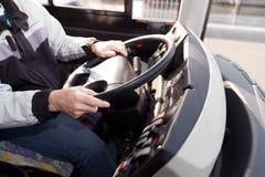 Οδηγός φορτηγού trucker Στοκ Εικόνες