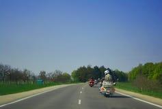 οδηγώντας ανεμιστήρες γ&rh στοκ φωτογραφία