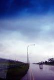 οδηγώντας βροχή Στοκ Φωτογραφίες