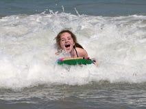 οδηγώντας κύματα Στοκ Φωτογραφίες