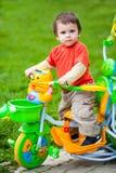 οδηγώντας παιχνίδι ποδηλά& στοκ εικόνα