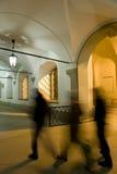 οδηγώντας σχολείο ισπα&nu Στοκ εικόνα με δικαίωμα ελεύθερης χρήσης