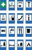 Οδικά σημάδια απεικόνιση αποθεμάτων