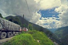 οδικά truck βουνών στοκ εικόνα