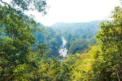 Οδική άποψη από ένα βουνό στοκ εικόνα με δικαίωμα ελεύθερης χρήσης