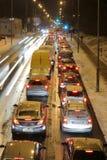 οδική βιασύνη βραδιού στοκ εικόνα με δικαίωμα ελεύθερης χρήσης