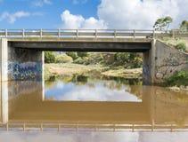 Οδική γέφυρα, Pallamana, Νότια Αυστραλία Στοκ φωτογραφία με δικαίωμα ελεύθερης χρήσης