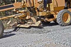 οδική διάδοση αμμοχάλικ&omic στοκ φωτογραφίες