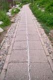 οδική πέτρα Στοκ εικόνες με δικαίωμα ελεύθερης χρήσης