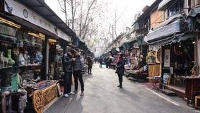 Οδική παλαιά αγορά Dongtai Στοκ φωτογραφία με δικαίωμα ελεύθερης χρήσης