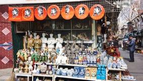 Οδική παλαιά αγορά Dongtai Στοκ Εικόνες