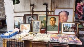 Οδική παλαιά αγορά Dongtai Στοκ Φωτογραφίες