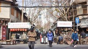 Οδική παλαιά αγορά Dongtai Στοκ φωτογραφίες με δικαίωμα ελεύθερης χρήσης