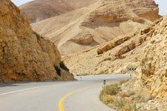 οδική στροφή βουνών στοκ φωτογραφία