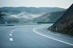 οδική στροφή Στοκ Εικόνα