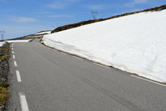 οδικός χειμώνας Στοκ Εικόνα