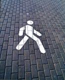 οδικό περπάτημα στοκ εικόνες με δικαίωμα ελεύθερης χρήσης