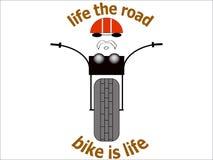 Οδικό ποδήλατο μπαλτάδων απεικόνισης εικόνων μπλουζών ποδηλατών αυτοκόλλητων ετικεττών vtcnjr ελεύθερη απεικόνιση δικαιώματος