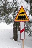 Οδικό σημάδι Στοκ Εικόνα