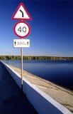 οδικό σημάδι Στοκ φωτογραφίες με δικαίωμα ελεύθερης χρήσης