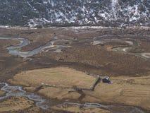 Οδικό ταξίδι στην κοιλάδα Yumthang, Sikkim ΙΝΔΙΑ, στις 15 Απριλίου 2013: Υ Στοκ Φωτογραφία
