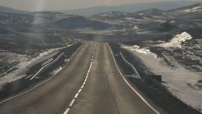 Οδικό ταξίδι στη λίμνη Baikal, Ιρκούτσκ Ρωσία στοκ φωτογραφίες με δικαίωμα ελεύθερης χρήσης